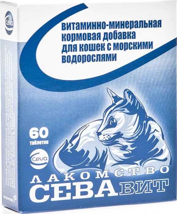 Поливитамины Ceva для кошек с Водорослями, 60 таблеток поливитамины ceva для собак с протеином 60 таблеток