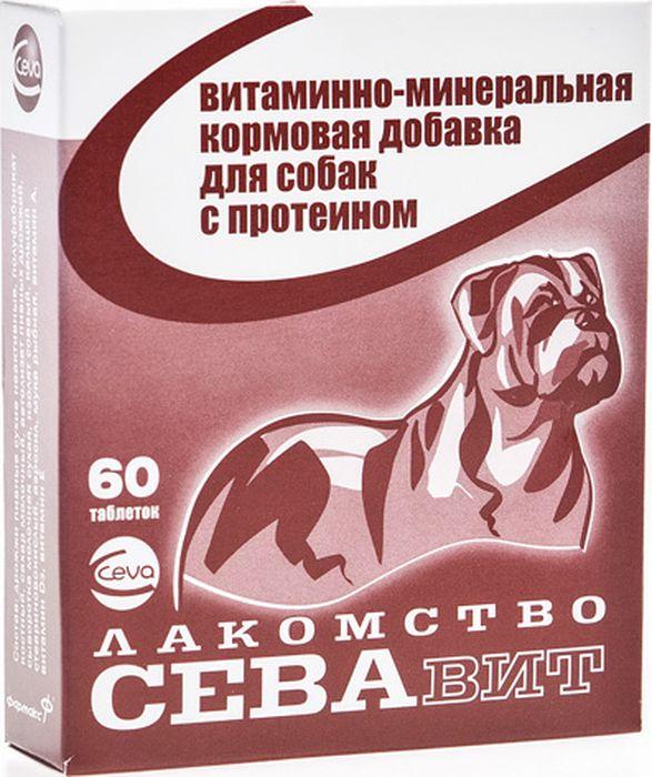 Поливитамины Ceva для собак с Протеином, 60 таблеток поливитамины ceva для собак с протеином 60 таблеток