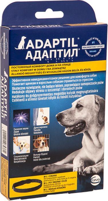 Ошейник лечебный для собак Ceva Адаптил. Размер L поливитамины ceva для собак с протеином 60 таблеток