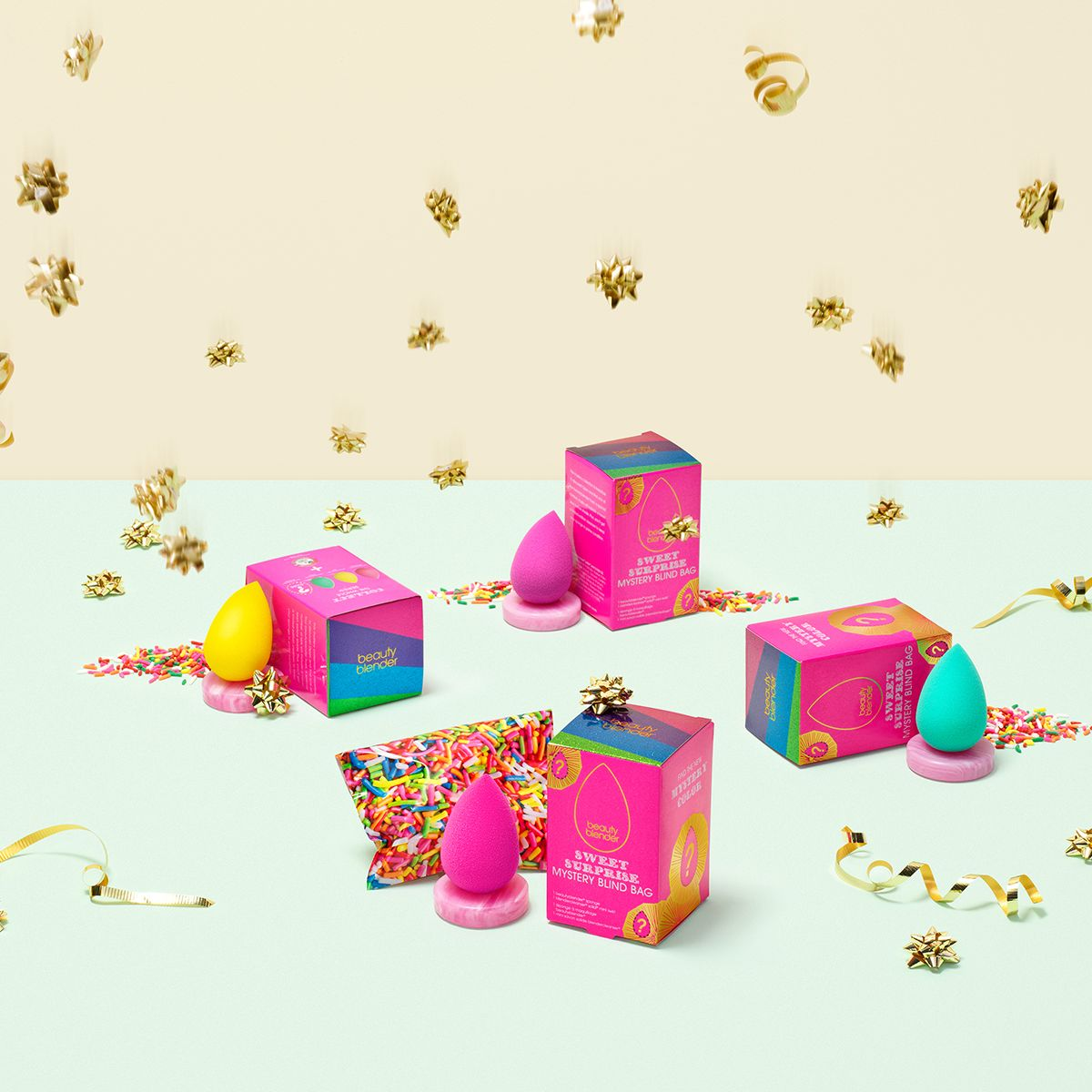 Подарочный набор Beautyblender Sweet Surprise, цвет:  разноцветный Beautyblender
