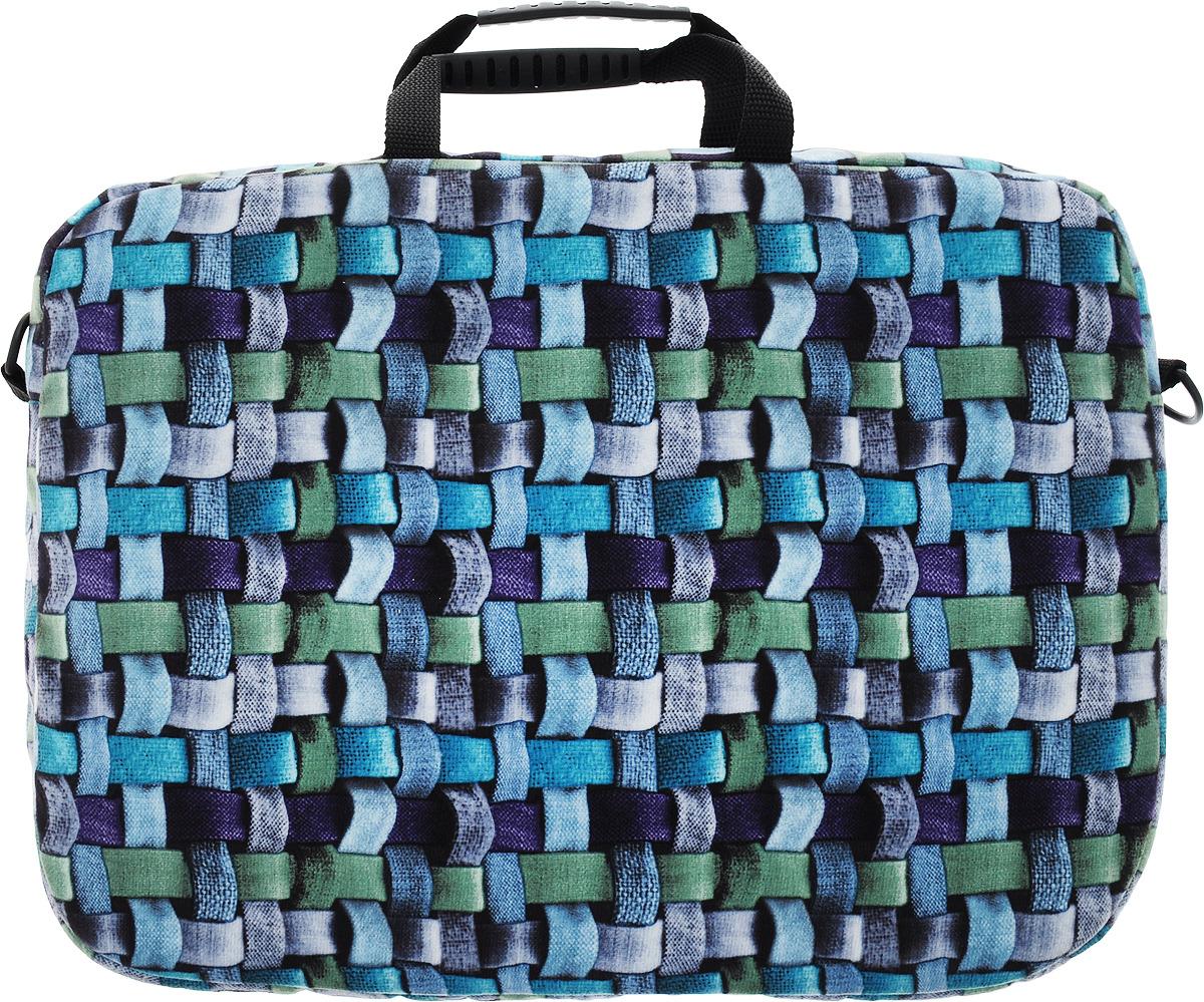 """Vivacase Ropes, Marengo сумка для ноутбука 15,6"""", цвет: синий, фиолетовый"""