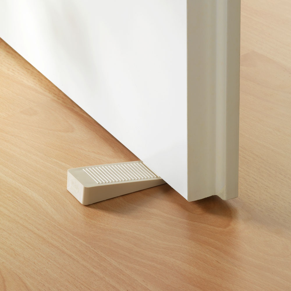 Стоппер для двери Хит-декор, 2 шт, 3,5 х 10 х 1,5 см комплект настенных часов хит декор для ванной комнаты 2 шт