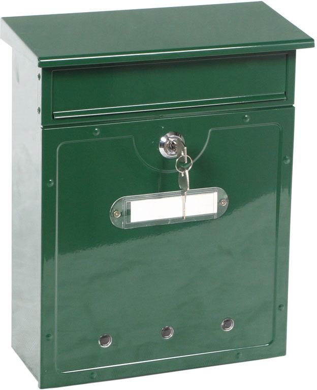 ящик почтовый пакс пм 8 Почтовый ящик Shuh Ru LT-01, зеленый, 26 х 12 х 32 см
