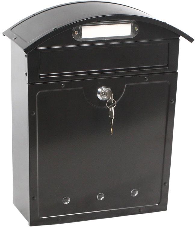 Почтовый ящик Shuh Ru LT-02, цвет: черный, 29 х 12 х 35 см Shuh Ru