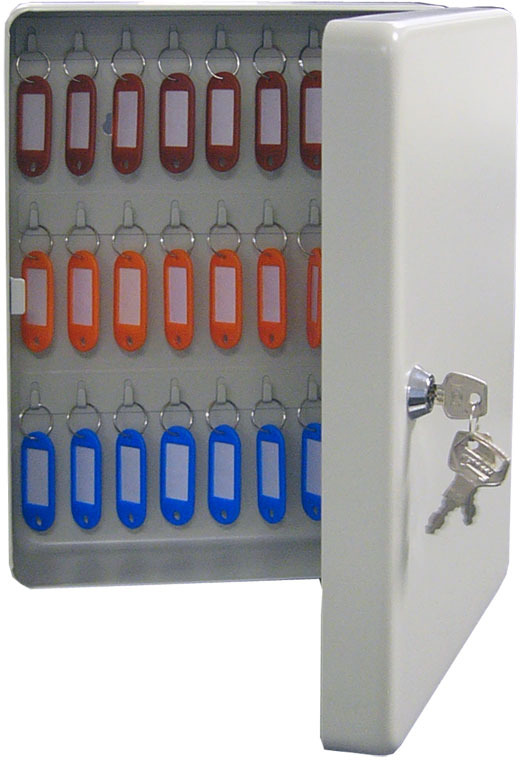 Ключница настенная Shuh Ru KB-50, цвет: серый, 23 х 9 х 30 см ключница настенная волшебная страна 005400 34 х 24 х 6 см