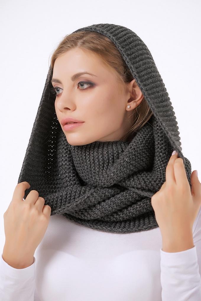 шарф хомут на голову картинки