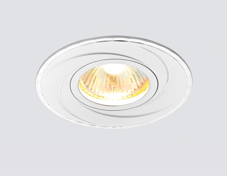 """Встраиваемый светильник Ambrella light A506ALA506ALПотолочные точечные светильники - хорошая замена традиционному освещению. С их помощью можно сделать акценты на определенных зонах в помещении или создать романтическую обстановку. Точечные светодиодные светильники Ambrella light могут стать настоящим украшением — важно лишь правильно их выбрать в соответствии с задачами помещения. Цвет """"алюминий"""" хорошо впишется в современный интерьер, не акцентируя внимания на себе. Рекомендуемая лампа LED/галогенная MR16 GU5.3 12V/220V max 50W."""
