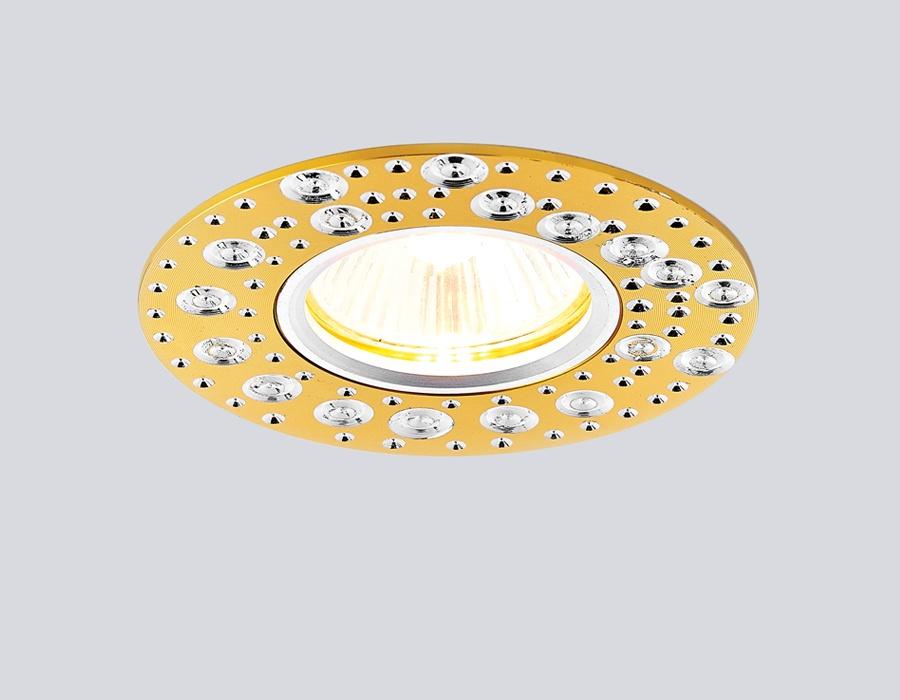 Встраиваемый светильник Ambrella light A801AL/G цена в Москве и Питере