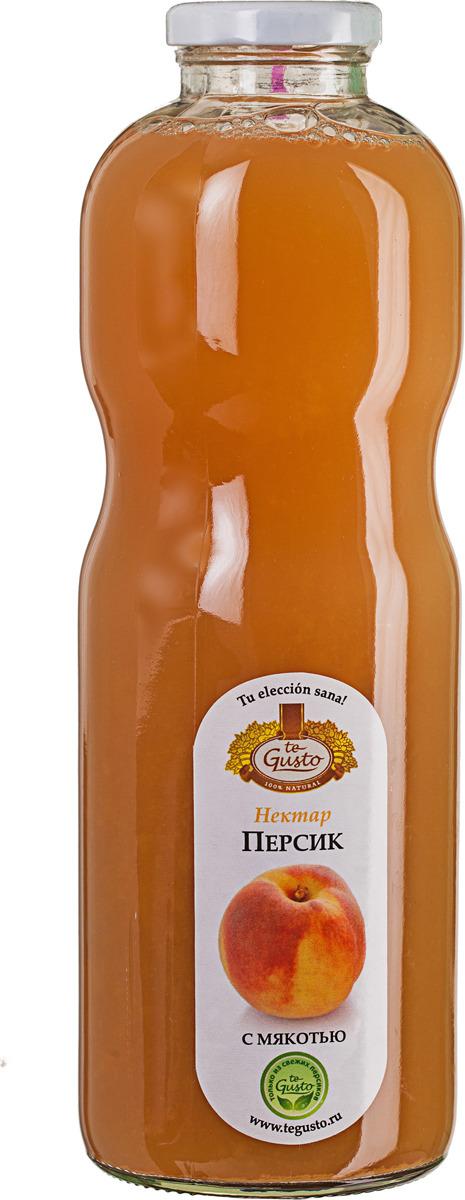Персиковый нектар с мякотью te Gusto, 0,85 л