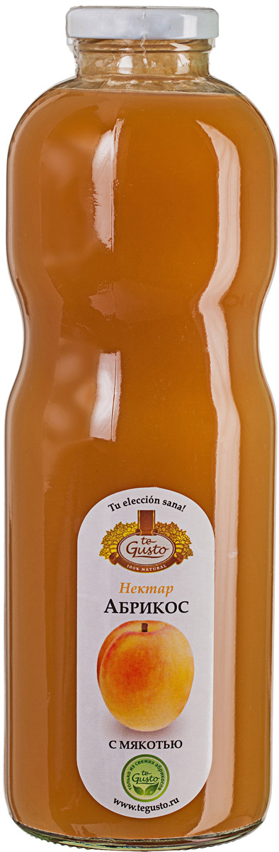 Абрикосовый нектар с мякотью te Gusto, 0,85 л