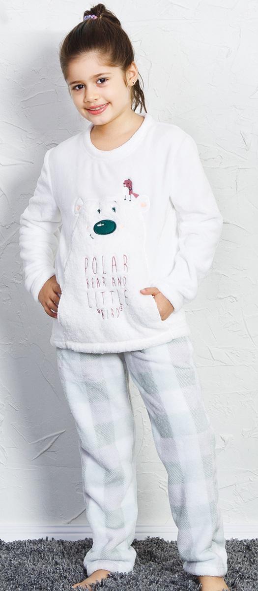 Домашний комплект Vienetta Soft&Pure домашний комплект женский vienetta s secret овечки кофта брюки цвет темно синий 712084 5069 размер xl 50