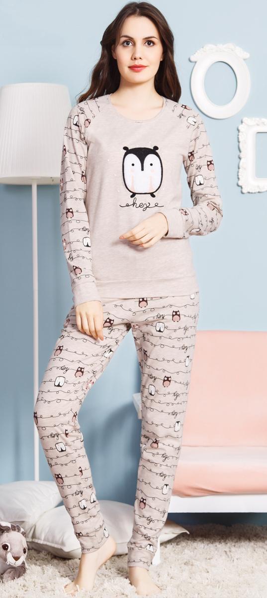 Домашний комплект Vienetta Pink домашний комплект женский vienetta pink ловец снов футболка шорты цвет серый меланж 712308 0000 размер s 44