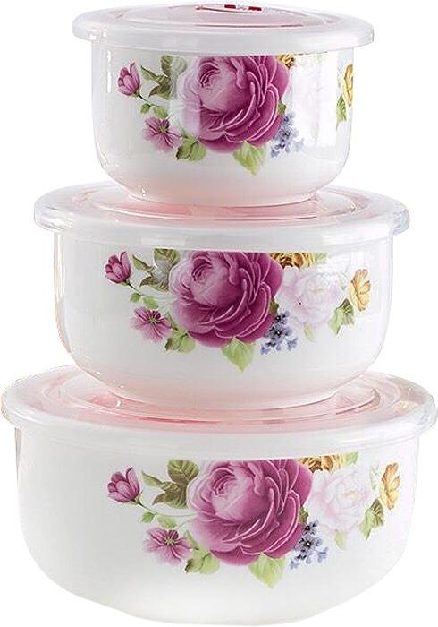 Набор пищевых контейнеров Irit IRH-324C, 3 шт набор контейнеров для продуктов patricia im99 5290