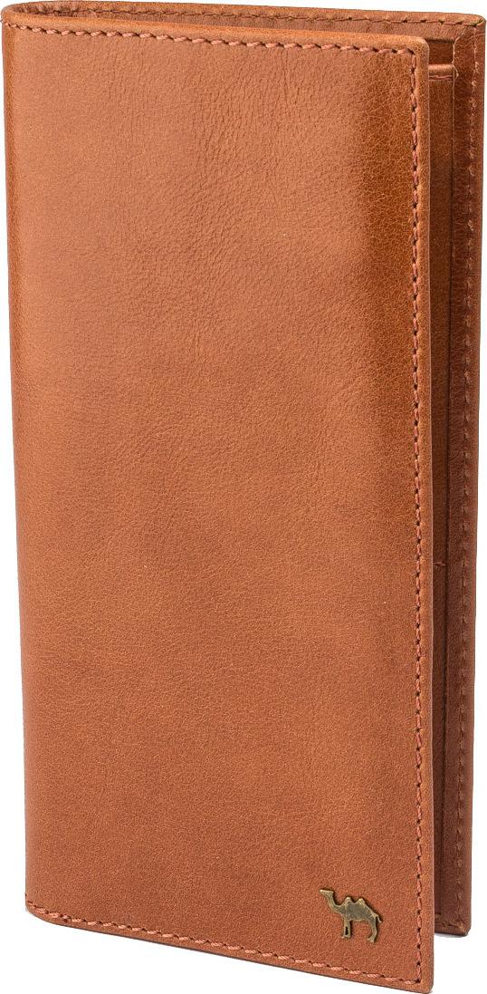 Портмоне мужское Dimanche Camel, цвет: коричневый. 42002