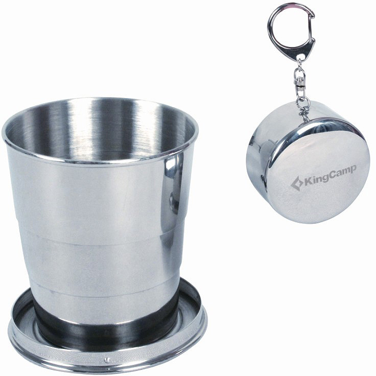 Стакан KingCamp Foldable Mug II, складной, 150 мл