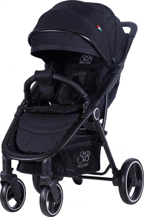 Коляска прогулочная Sweet Baby Suburban Compatto, цвет: черный