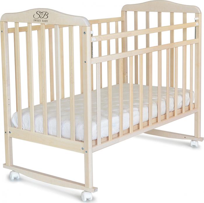 Кроватка детская Sweet Baby Mario, цвет: белое облако