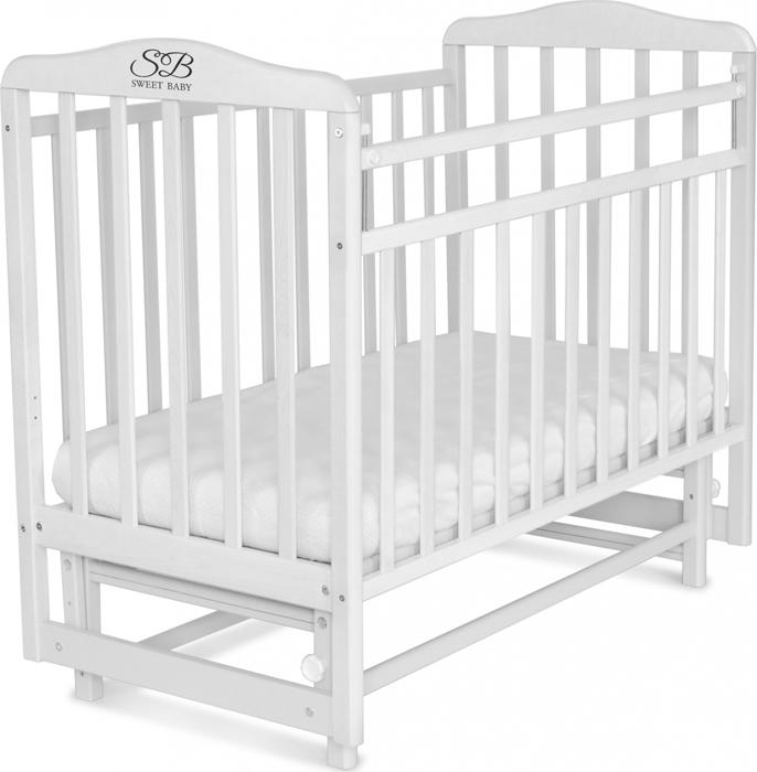 Кроватка детская Sweet Baby Ennio, цвет: белый