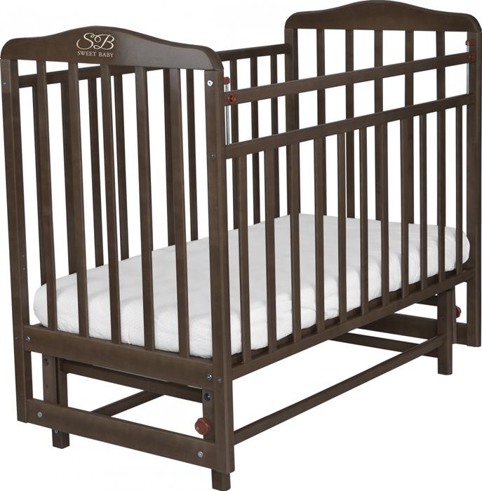 Кроватка детская Sweet Baby Ennio, цвет: венге кроватка daka baby укачай ка 02 цвет венге