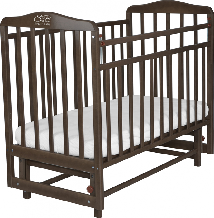 Кроватка детская Sweet Baby Ennio, цвет: венге