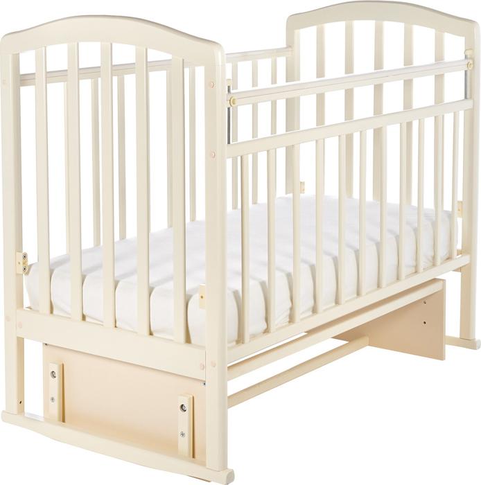 Кроватка детская Sweet Baby Emilia, цвет: слоновая кость детская кроватка sweet baby mario nuvola bianca белое облако