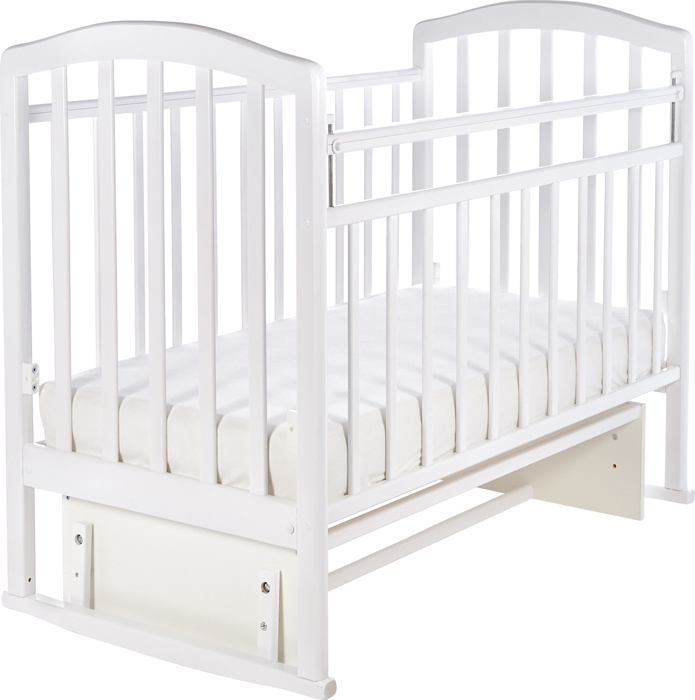 Кроватка детская Sweet Baby Emilia, цвет: белый детская кроватка sweet baby mario nuvola bianca белое облако