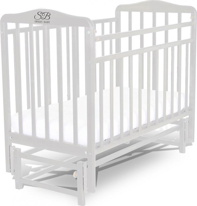 Кроватка детская Sweet Baby Flavio, цвет: белый