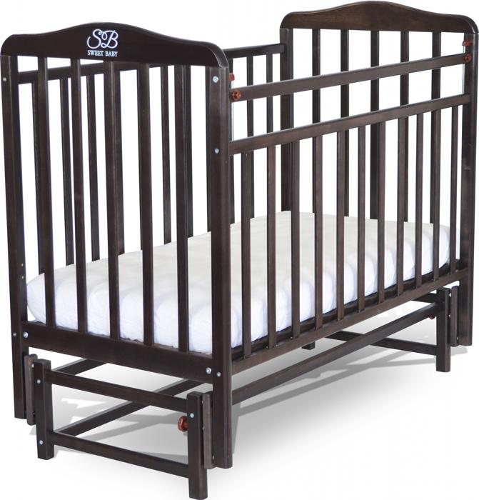 Кроватка детская Sweet Baby Flavio, цвет: венге детская кроватка sweet baby mario nuvola bianca белое облако
