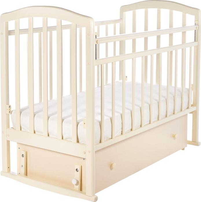 Кроватка детская Sweet Baby Luciano, цвет: бежевый детская кроватка sweet baby mario nuvola bianca белое облако