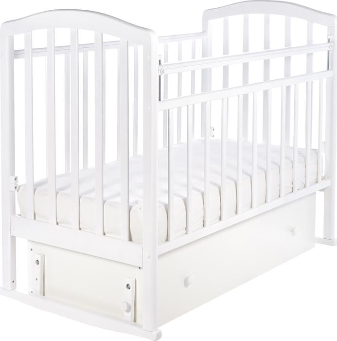 Кроватка детская Sweet Baby Luciano, цвет: белый детская кроватка sweet baby mario nuvola bianca белое облако