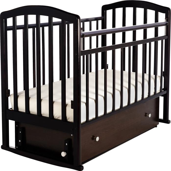 Кроватка детская Sweet Baby Luciano, цвет: венге детская кроватка sweet baby mario nuvola bianca белое облако