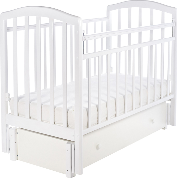 Кроватка детская Sweet Baby Lucia, цвет: белый кроватка детская sweet baby lucia цвет венге