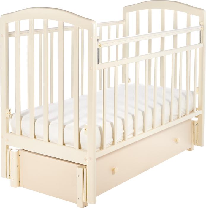 Кроватка детская Sweet Baby Lucia, цвет: слоновая кость детская кроватка sweet baby mario nuvola bianca белое облако