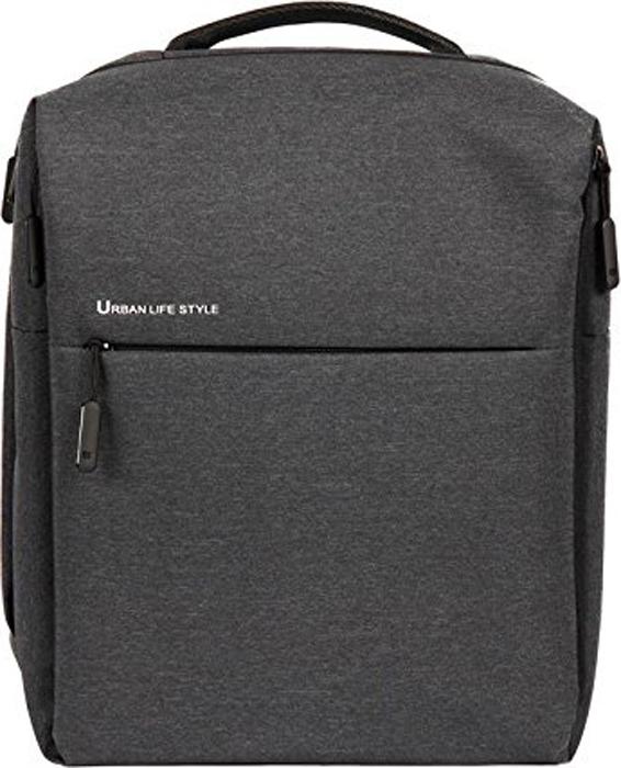 Рюкзак для ноутбука Xiaomi Mi City Backpack 14, Dark Grey рюкзак для планшета 8 3 xiaomi mi city sling bag полиэстер серый micityslingbag lightgray dsxb01rm