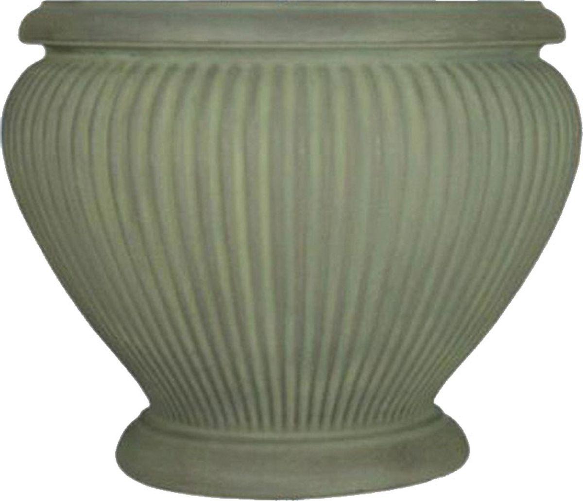 Вазон для цветов Dominican Garden Эсте, цвет: медный, диаметр 45,7 см