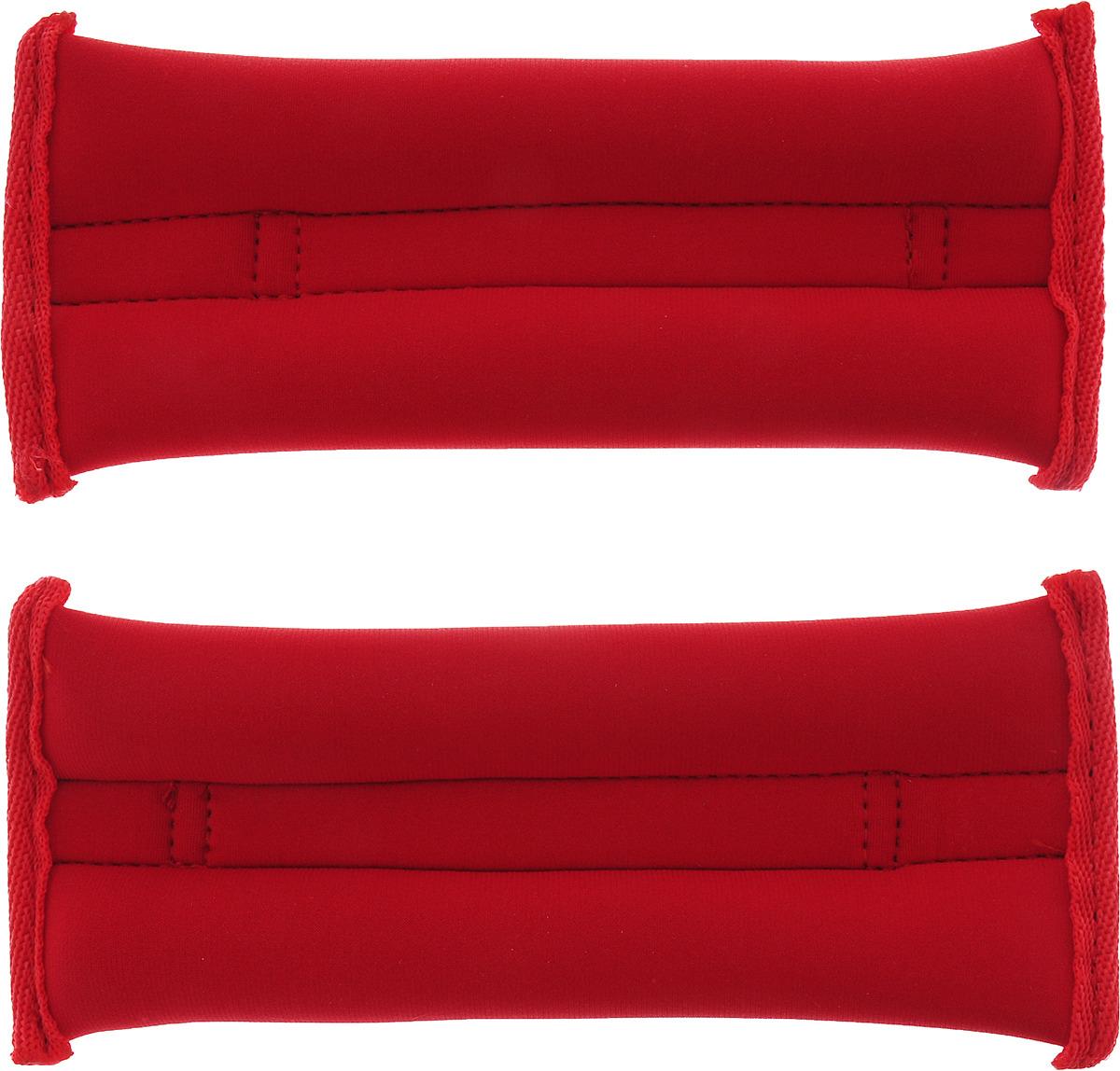 Утяжелитель спортивный Indigo Неопреновые, цвет: красный, 0,2 кг, 2 шт утяжелитель спортивный indigo неопреновые цвет красный 0 2 кг 2 шт