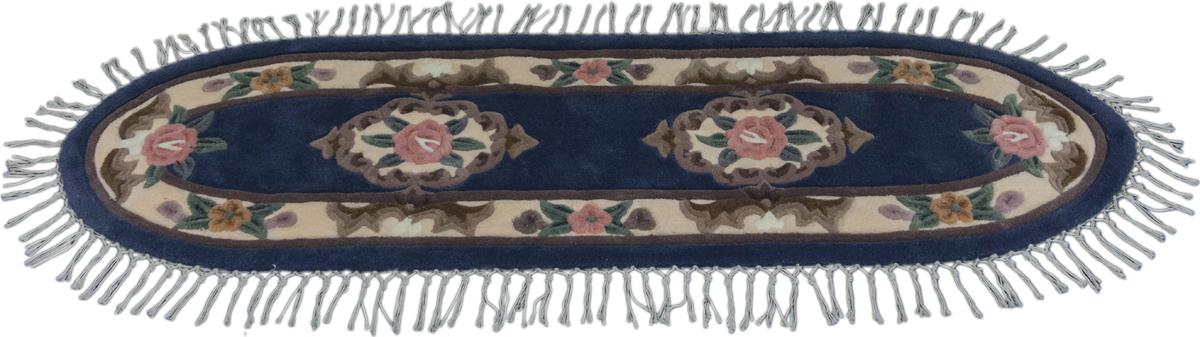 Ковер Madonna, овальный, цвет: серый, 0,8 х 2,8 м. 8551/400