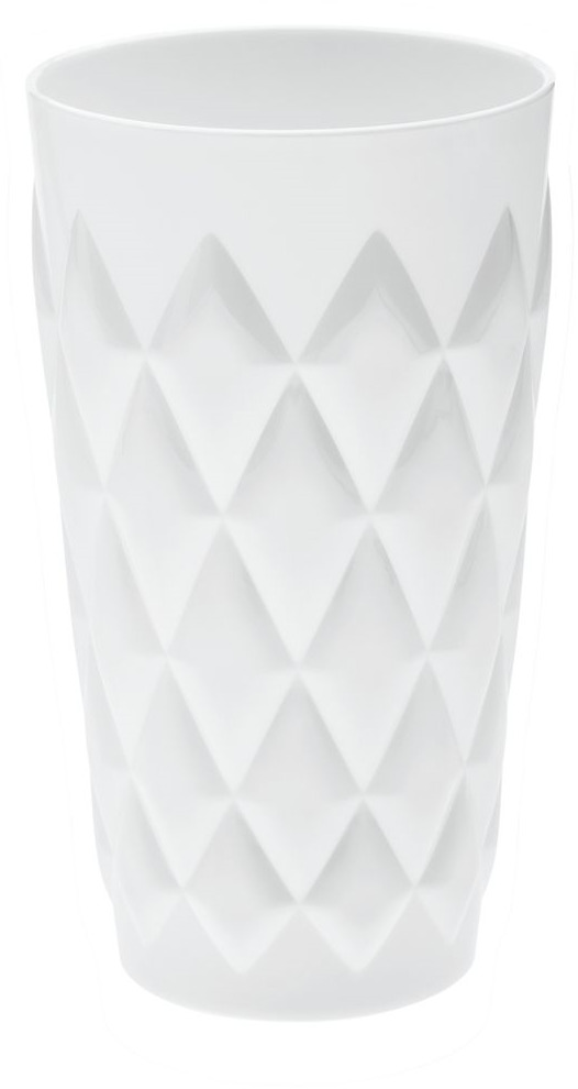 Стакан Koziol CRYSTAL L, цвет: белый, 450 мл