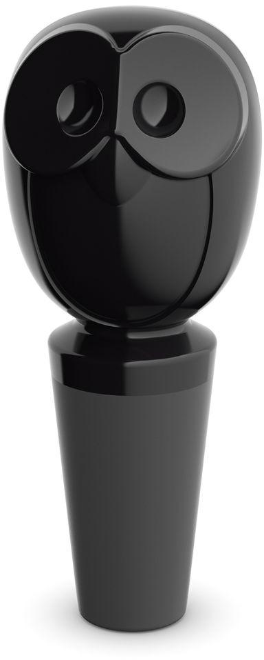 Пробка для бутылки Koziol ELLI, цвет: черный