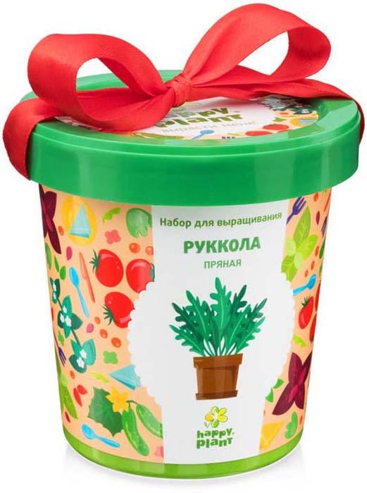 Набор для опытов и экспериментов Happy Plant Горшок. Руккола пряная растение happy plant ромашка hp 10