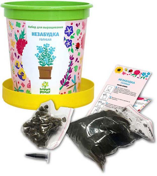 Набор для опытов и экспериментов Happy Plant Горшок. Незабудка голубая растение happy plant ромашка hp 10
