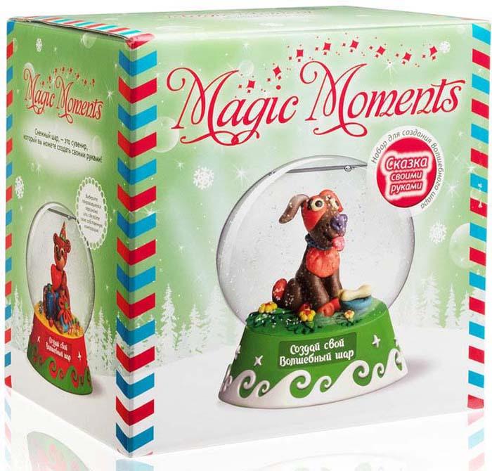 Набор для лепки Magic Moments Создай Волшебный шар. Собачка