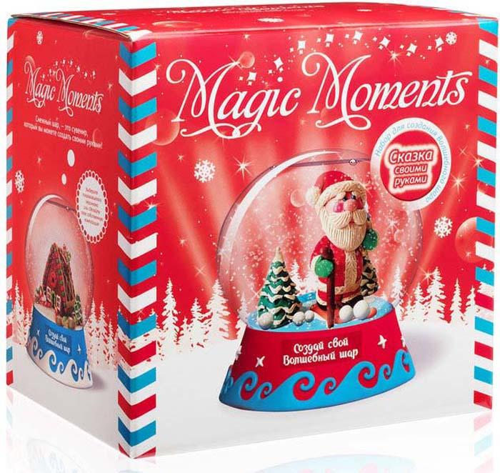 Набор для лепки Magic Moments Создай Волшебный шар. Дед Мороз сувенир шар водяной со снегом дед мороз 5 5 7см
