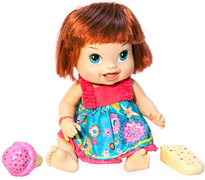 """Кукла 1TOY """"Лакомка Лиза"""", с карэ"""