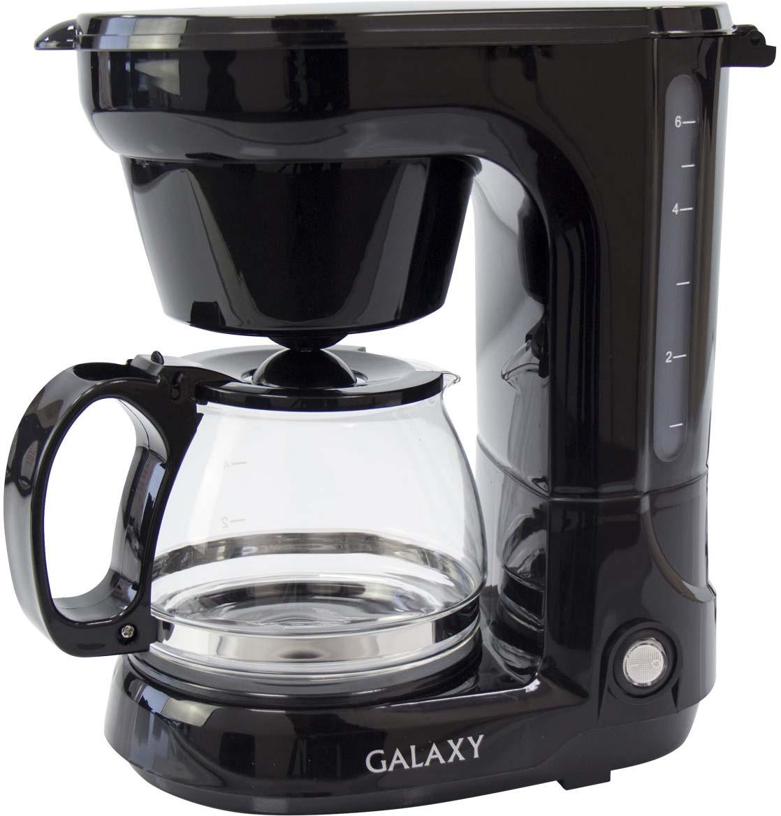 Кофеварка капельная Galaxy GL 0701, цвет: черный