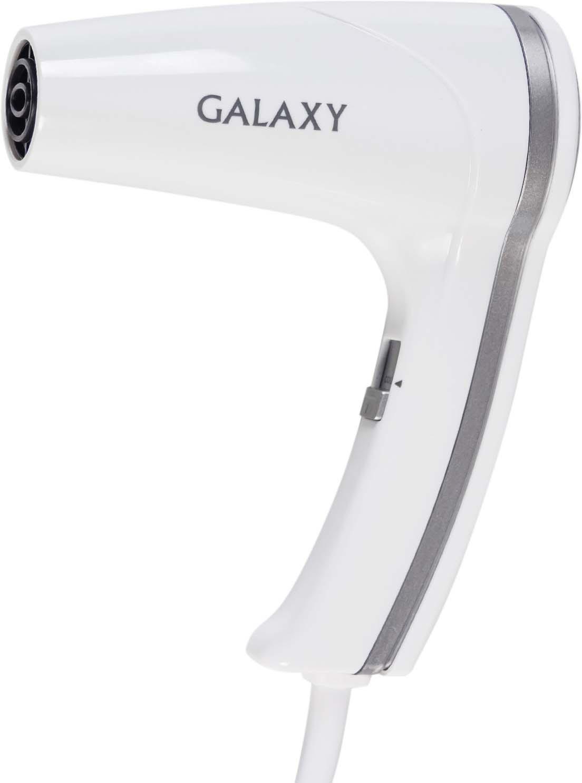 Фен Galaxy GL 4350, цвет: белый, серый