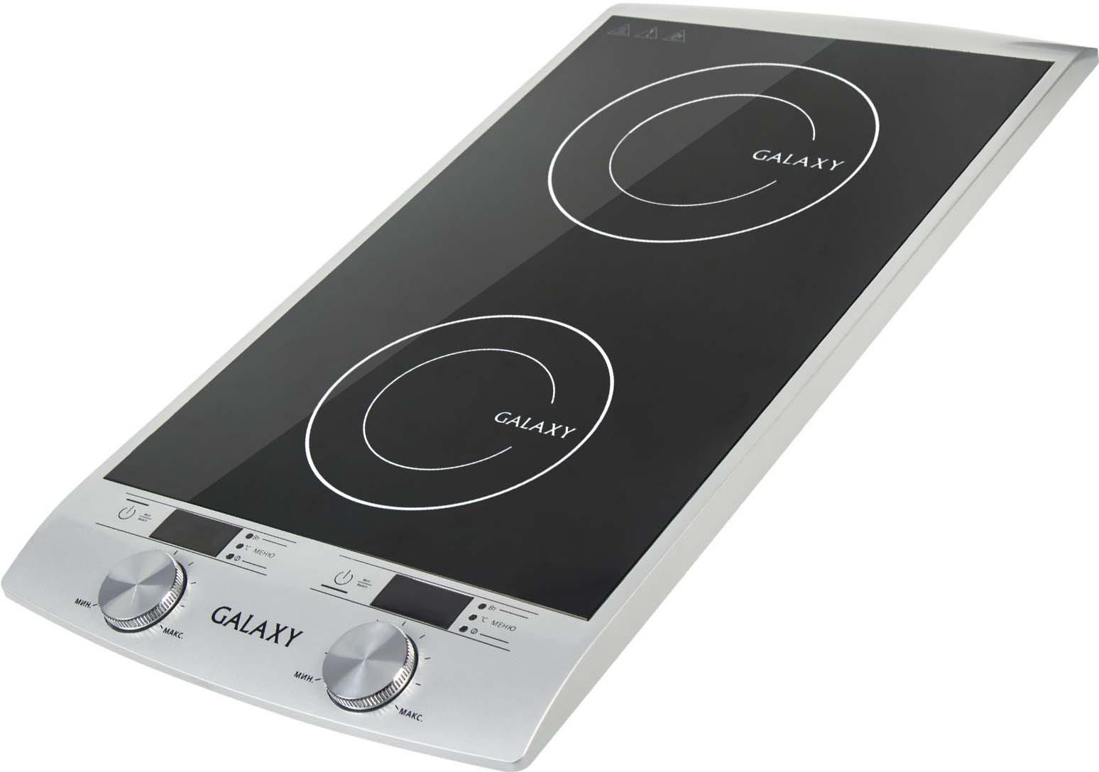 Настольная индукционная плита Galaxy GL 3057, цвет: черный, серый
