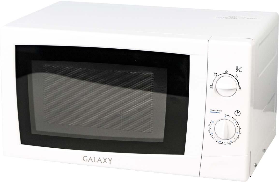 Микроволновая печь Galaxy GL 2601, цвет: черный, белый стайлер galaxy gl 4617
