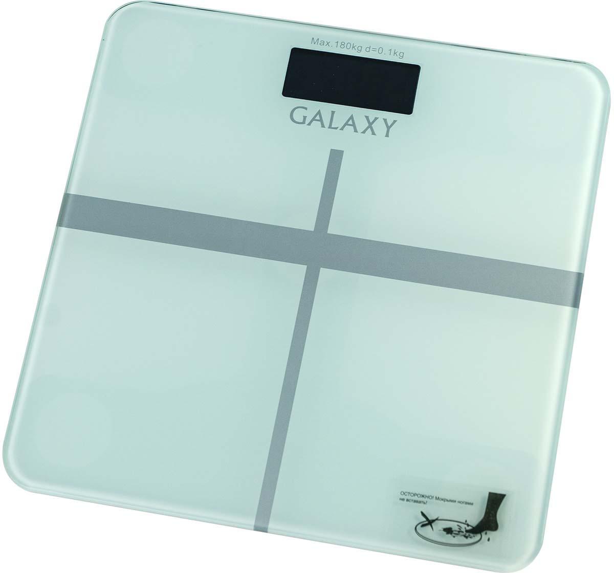 Напольные весы Galaxy GL 4808, цвет: слоновая кость