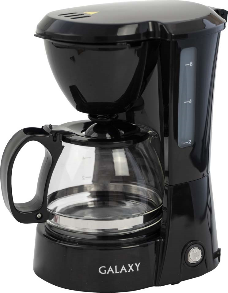 Кофеварка капельная Galaxy GL 0700, цвет: черный galaxy gl 2441 ножеточка электрическая